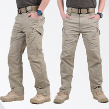 GEJIAN IX9 City Military Tactical Cargo Pants Men SWAT Combat Army Pants Casual Men Hikling Pants pantalones hombre trousers men(China)