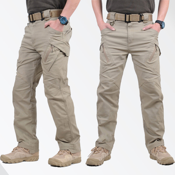 GEJIAN IX9 City Military Tactical Cargo Pants Men SWAT Combat Army Trousers Male Casual Many Pockets Pants pantalones hombre Cargo Pants