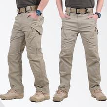 GEJIAN IX9 City Military Tactical Cargo Pants Men SWAT Comba