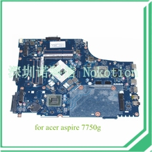 laptop motherboard for acer aspire 7750G LA-6911P MBRNA02001 HM65 ATI HD 6800M DDR3