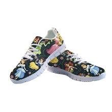 ELVISWORDS Women Flats Shoes Princess Cu