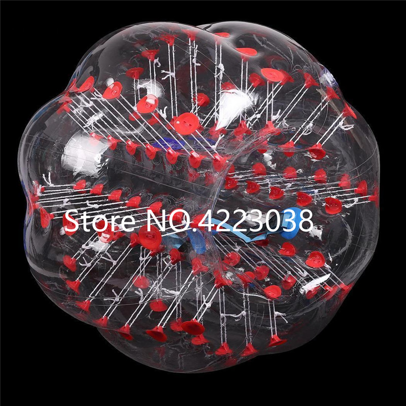 Envío Gratis, Bola de fútbol de burbuja humana de 1,5 m, juguetes para deportes al aire libre, bola para hámster, Bola de estrés, traje de fútbol de burbujas - 3