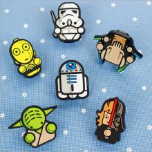 STARWARS small clips    PVC cartoon bag clips
