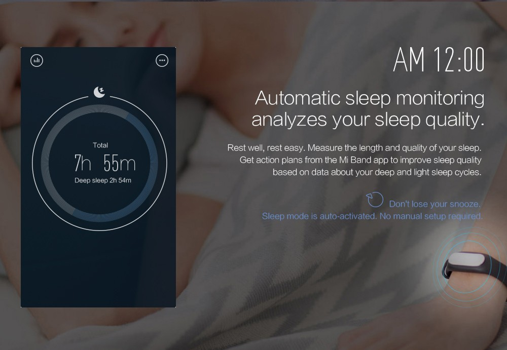 100% Original Xiaomi Mi Band 1S Bluetooth Smart Fitness Bracelet for Android/IOS Phone Vibration Alarm Pedometer Sleep Tracker 5