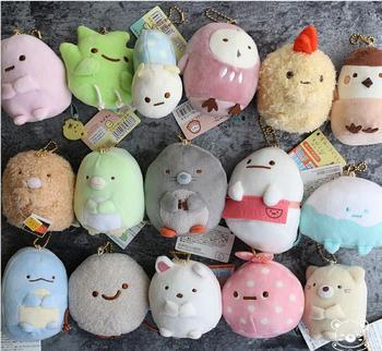 Плюшевая Японская игрушка брелок Sumikko gurashi в ассортименте