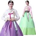2016 de inverno mulheres roupas de dança nacional coreano dae jang geum hanbok tradicional traje cosplay