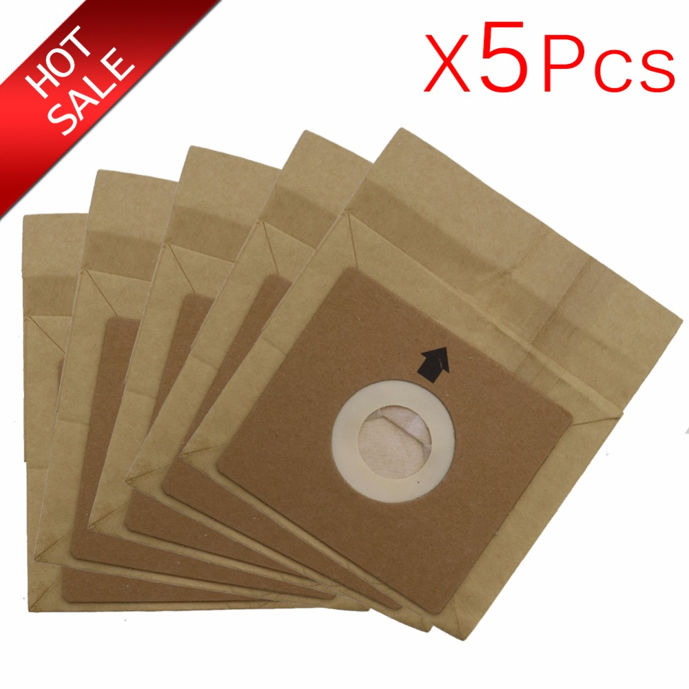 5Pcs Vacuum Cleaner Dust Paper Bags 100*110mm Diameter 50mm,Vacuum Cleaner Accessories Parts,for FC8334/FC8338/FC8349/FC8344