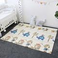 Развивающий коврик для ребенка нетоксичный мягкий XPE пенопласт для занятий спортом тренажерный зал портативный складной игровой коврик дл...