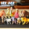 12 unids/lote Ice Age 4 Figura de Acción Juguetes 3-5 cm PVC Ice Age Figura Modelo Muñeca Anime Brinquedos juguetes Para Los Niños