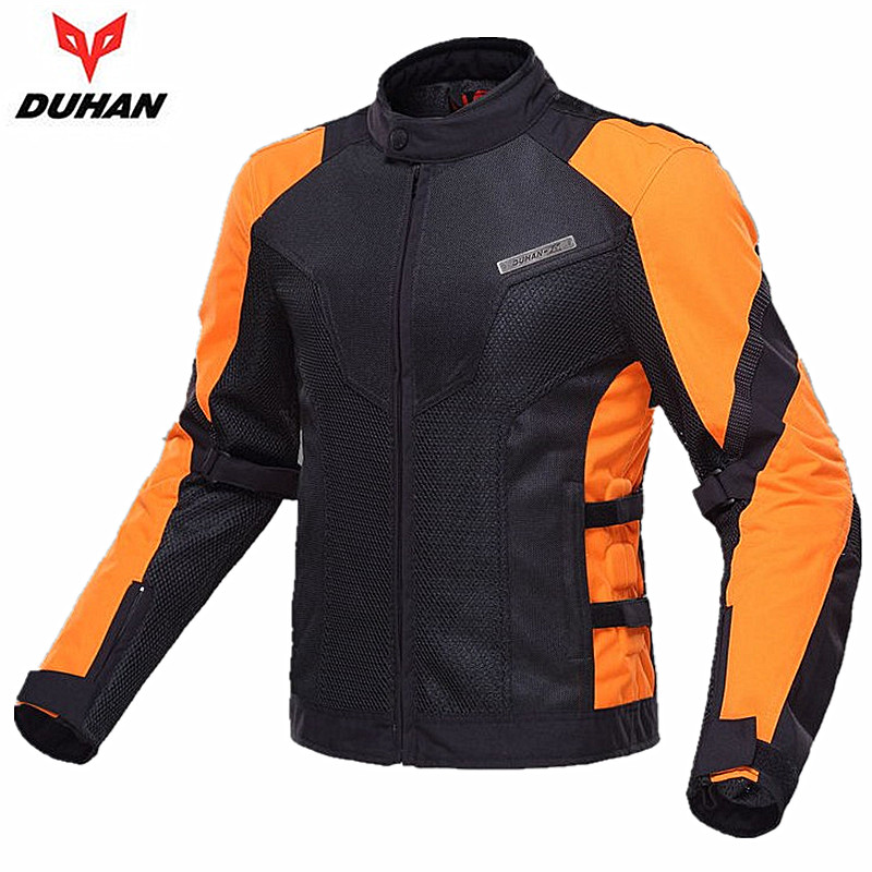 DUHAN Genuine Motocross racing Jackets Summer Body Protection Motorbike Clothing Men Moto jaqueta with 5PCS Protective Gear risk racing 00 110 black motocross grip donuts with blister protection