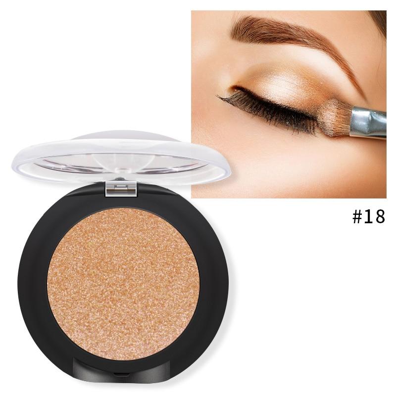 Eye Shadow Beauty & Health Glitter Eyeshadow Palette Yeux Sombra Makeup Metallic Festival Eye Shadow Powder Shimmer Maquiagem Blue Make Up Cosmetics Modern Techniques