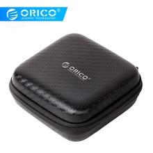 ORICO PBS95 Earphone Accessories Earphone Case Bag Headphones Portable Storage Case Bag Box Headset Accessories