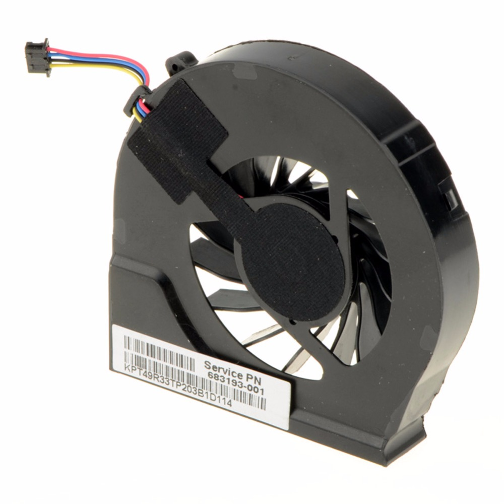 Laptops Computer Replacements CPU Cooling Fan Fit For HP Pavilion G6-2000 G6-2100 G6-2200 Series Laptops 683193-001 HA image