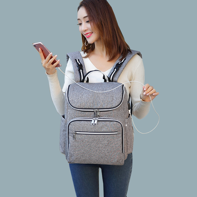 Oxford Bummy Bag Shoulder Multifunctional Large Capacity Baby Backpack with Diaper Bottle bolsa mochila maternidade maternal in Diaper Bags from Mother Kids
