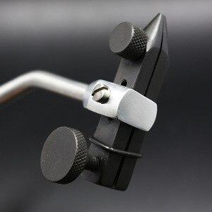 Image 5 - רויאל סיסי באיכות גבוהה לטוס מלחציים קשירה withC מהדק ידית להקשיח פלדה לסתות דיוק כפול כדור נושאות רוטרי לטוס דיג סגן