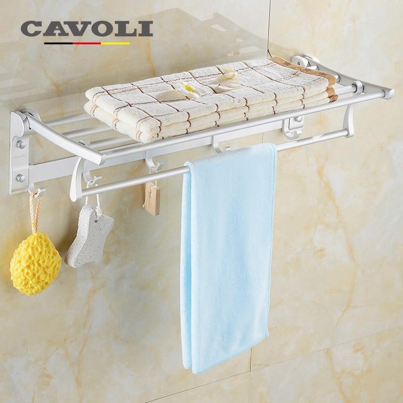 ᗑ】Cavoli Aluminum Anodizing 60cm Multifunction Foldable Towel ...