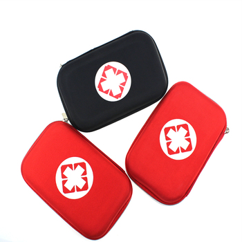 Black And Red Color First Aid Kits Portable