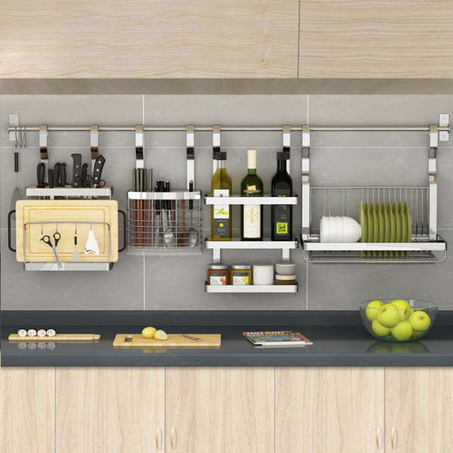 Beautiful Stainless Steel Kitchen Rack, Kitchen Shelf, DIY