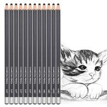 Sketch Pencil Charcoal-Pencil-Set Dainayw Art-Supplies Hard-Lapiz Drawing Professional