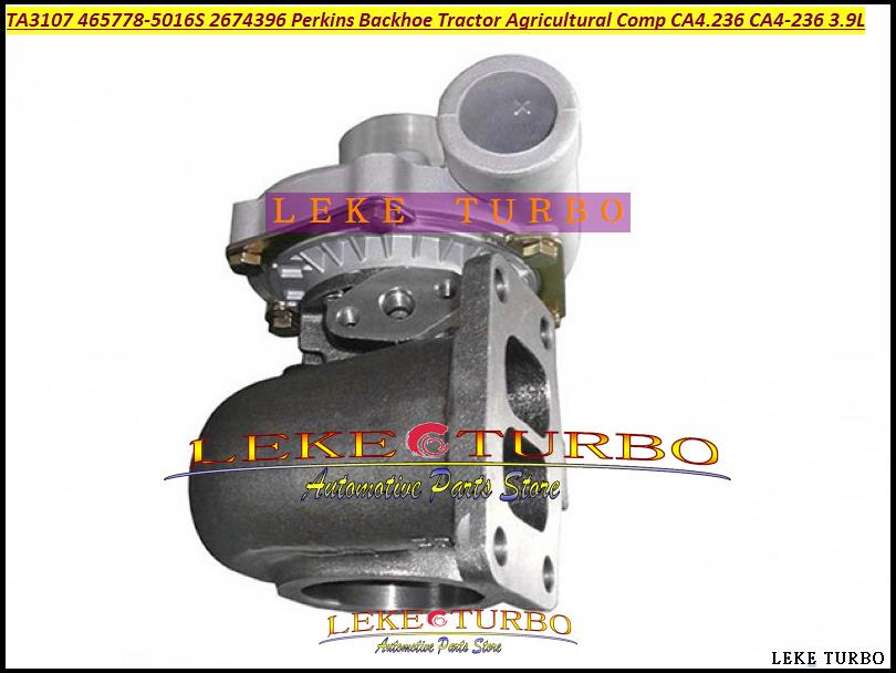TA3107 465778-5016S 465778-0016 465778 2674A396 2674396 Turbo For Perkins Backhoe Tractor Agricultural Comp 438C CA4.236 3.9L turbo gt2556s 711736 711736 5026s 2674a226 turbine for perkin s massey ferguson 5455 tractor loader backhoe 420d it vista 4 4 4l