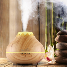 EASEHOLD 150ml Ultrasonic Cool Mist Humidifier with Color LED Lights Changing and Waterless Auto Shut-off for Office, Yoga, Spa