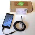2M 6-LED 7mm Android and PC Endoscope USB Waterproof Borescope Inspection Camera