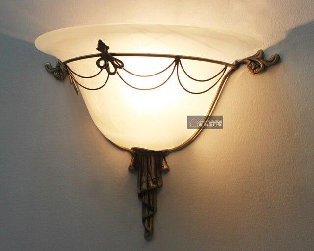 Lampade Rustiche In Rame : Fashion rame dell annata rustica lampada da comodino camera da