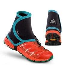 Aonijie cubiertas protectoras para zapatos para hombre y mujer, polainas de Trail bajo para correr, par de cubiertas protectoras para zapatos, prevención de Piedra de Arena para exteriores