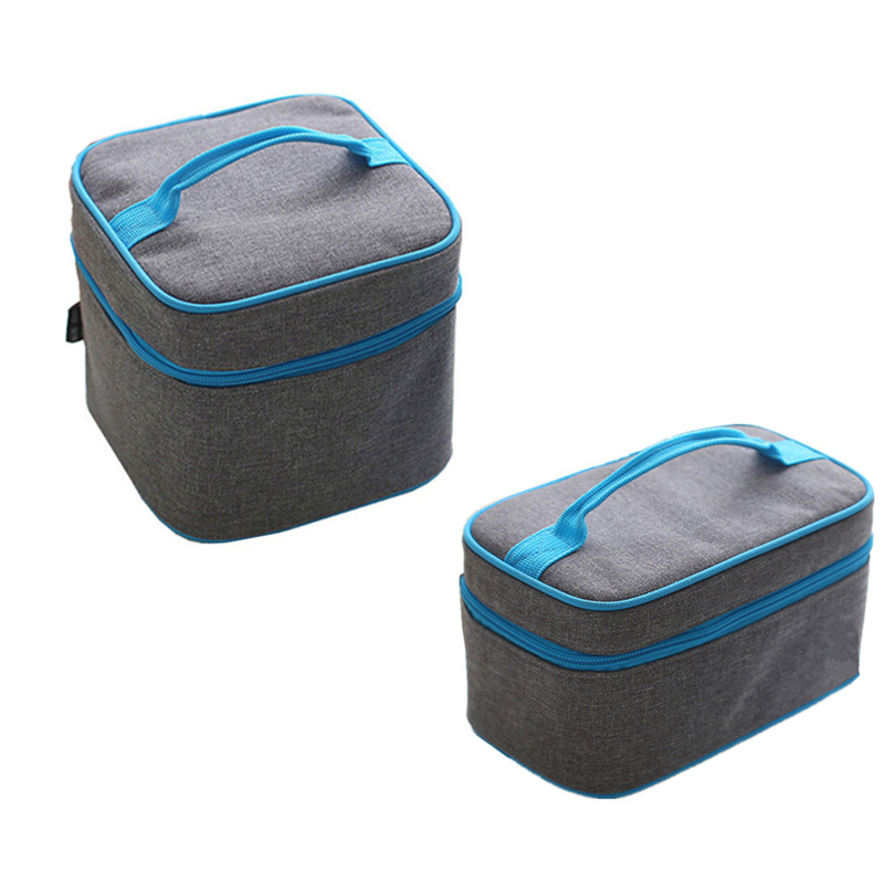 Gray Lunch Thermal Insulated Bags Family Travel Picnic BBQ Box Drink Beer Ice Cooler Pack Case Accessories Supplies Products отсутствует современная конкуренция 2 44 2014