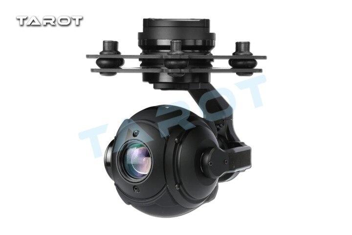 Tarot PEEPER T10X 250ma Burshless cardan FPV sphérique haute définition TL10A00 avec caméra HD