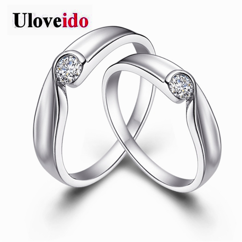 Uloveido Fate Love His And Hers Promise Ring Sets Korean Couple