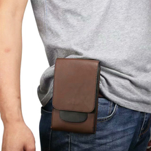 PU Hook Loop Belt Mobile Phone Case Bags Pouch For Xiaomi Pocophone F1,Mi A2 Lite,For Motorola Moto Z3 Play,For BlackBerry KEY2
