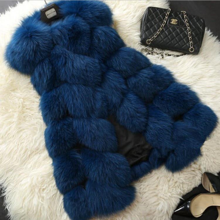 Pelliccia 10 Autunno 3 Faux Vest 8 Inverno 7 Fur 4 Donna 5 2 12 Nuovo Cappotto E 1 Di 9 Peluche Casual 11 6 1pqwrE1