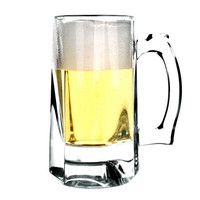 Thick Beer Glass Tea Cup Toughened With Handle Home Drinkware