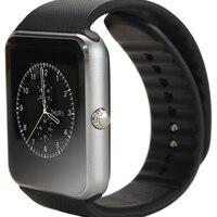 Bluetooth GT08 Multi-Fonction Mobile Téléphone Rappel Montre Smart Watch Relogio Android Montre Smart Watch Soutien D'appel SIM TF Carte Caméra
