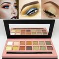 Big Sale Professional Gold Pigment Metal Matte Eye Shadow Waterproof Natural Glitter Powder Nude Eyeshadow Makeup Palette