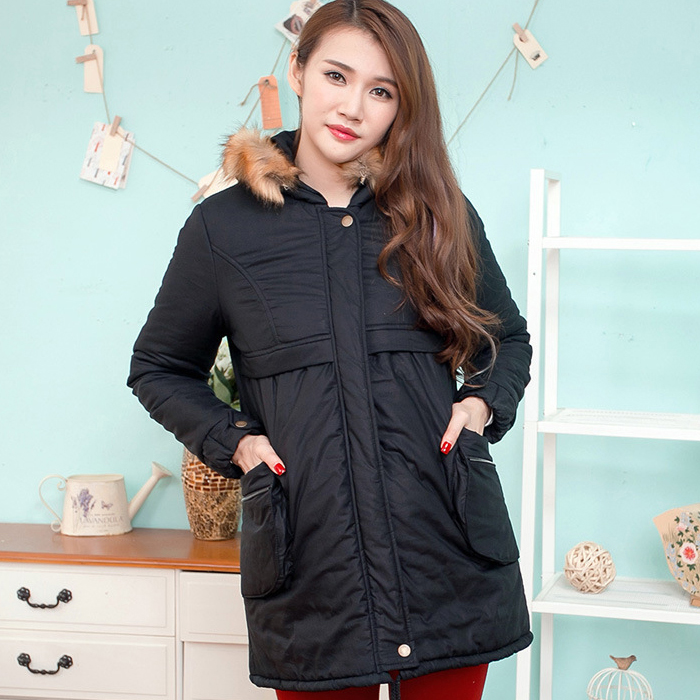 Winter Warm Maternity Down Jackets Coats Clothes Pregnancy Thickend Hooded Coat Windbreaker Outwear Clothing For Pregnant Women цены онлайн
