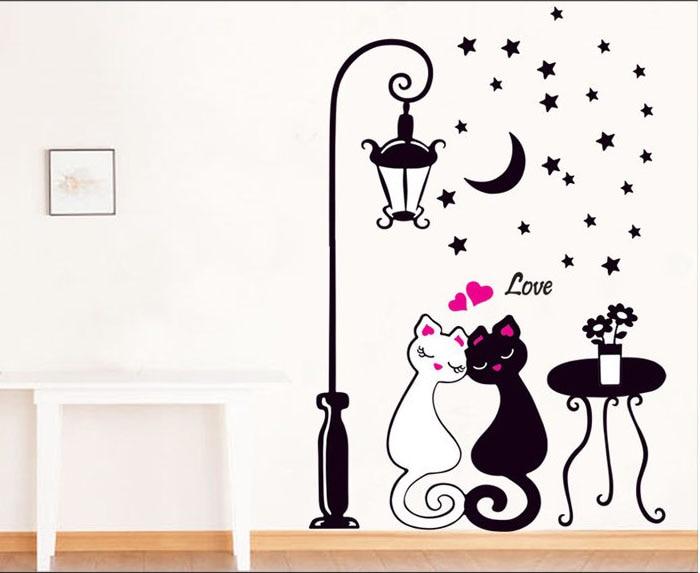 Cute KittyCat Wall Decal