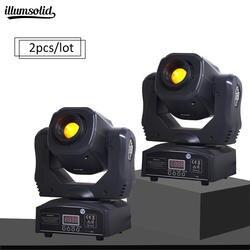 (2 шт./лот) светодиодный движущаяся головка светодиодный Inno Карманный точечный мини движущийся головной свет 60 Вт DMX dj 7 gobos эффект