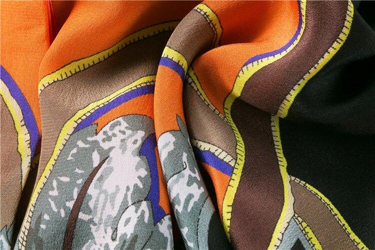 Marque Ligne De Festa Une 2018 Même Imprimer Robe Femmes 110802 Orange Manches Style Courtes Mifairy Robes 4ARj5L3