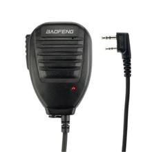 1 шт. PTT динамик микрофон Аксессуары для микрофона для Baofeng UV-5R BF-888s TYT Ret черный