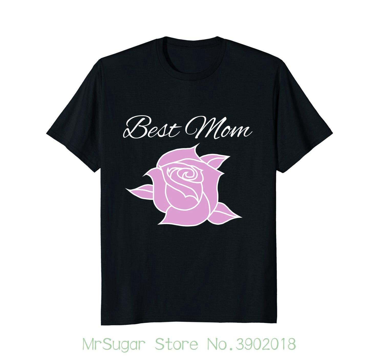 Симпатичные мама Красивые розы футболка, идеальный подарок на день матери футболка для Для мужчин/мальчик короткий рукав крутые футболки