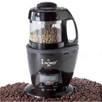 Black Coffee Roaster Coffee Machine For House Mini Easily To Control