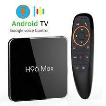 H96 最大X2 アンドロイド 9.0 スマートtvボックス 4 ギガバイト 64 ギガバイトamlogicデュアル無線lan H.265 1080 1080p 4 18k USB3.0 グーグルプレイストアH96MAXセットトップボックス