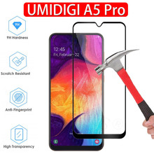 9H Premium Tempered Glass on UMIDIGI A5 Pro Full Screen Protector Cover front Protective Film UMI