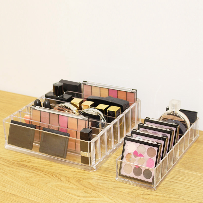 Lipstick-Holder Storage-Box Makeup-Organizer Cosmetic Acrylic Desktop Clear Maquillaje