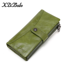 X。d。bolo 新女性財布ロング財布クラッチ財布女性ファッション電話財布カードホルダー革財布