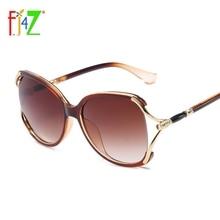 0f08b5c4e2 F.J4Z Hot Unique Design Ladies  Sunglasses Fashion Fancy Eye Wear Quality  Plastic Frame Shades Glasses