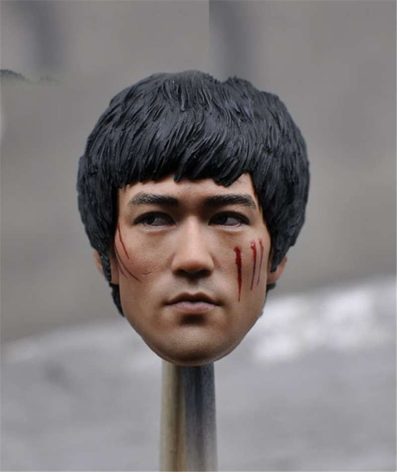 Mnotht Toy 1/6th Kumik Asian Man Head Sculpt Model F/12 Male Action Figure HT Body KM16-45 Action & Toy Figures l30 сварочный полуавтомат кедр mig 500 f