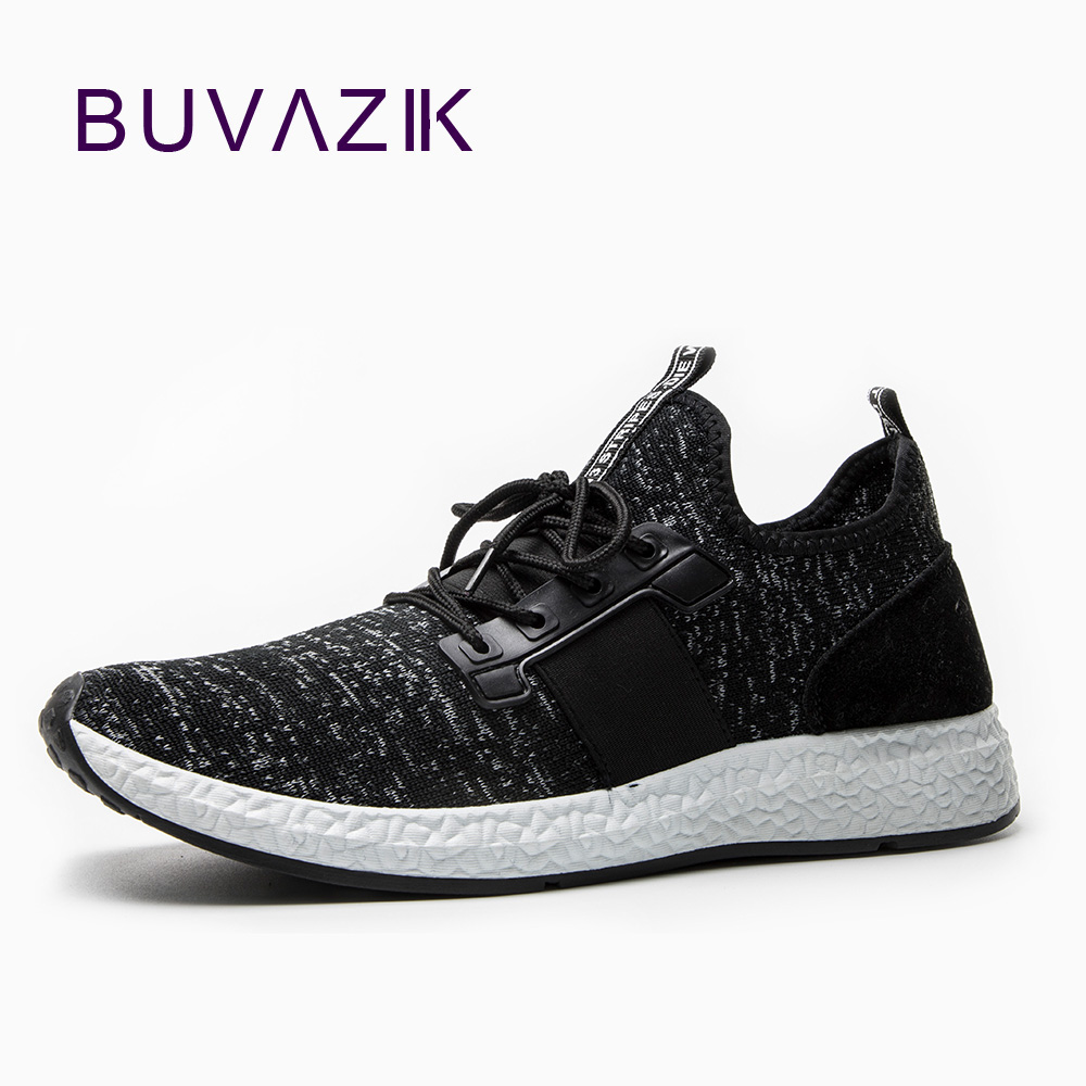 BUVAZIK Mens Air Mesh Breathable Sneaker Trend Comfortable Casual Shoes Men For 2018 Spring Free Shipping